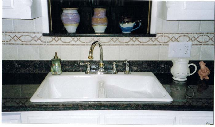 White Construction Kitchen Sinks